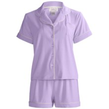 Paddi Murphy Softies Meghan Shorty Pajamas (For Women) in Orchid - Closeouts