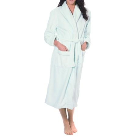 Paddi Murphy Velour Robe (For Women) in Mint