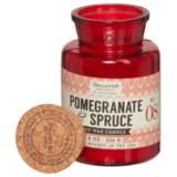 Paddywax Letterpress Pomegranate Spruce Mini Soy Candle - 8 oz.