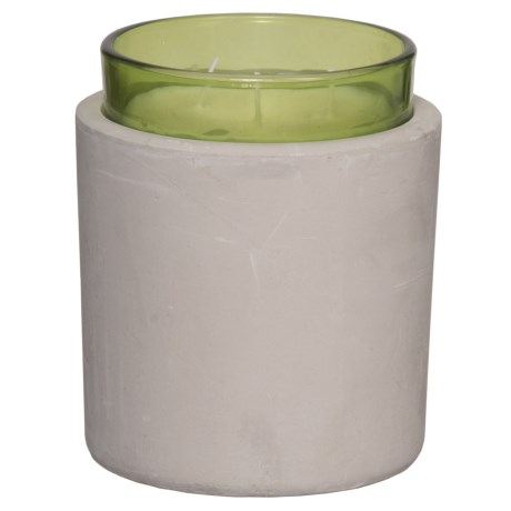 Paddywax Melange Green Tea and Grasses Soy Candle - 3-Wick, 16 oz. in Pistachio