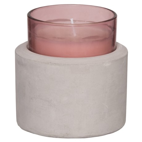 Paddywax Melange Vanilla and Rose Wood Soy Candle - 3-Wick, 8 oz. in Rose