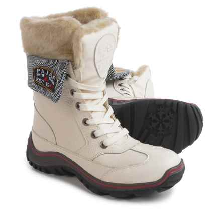 Pajar Alice Winter Boots - Waterproof, Leather (For Women) in White - Closeouts