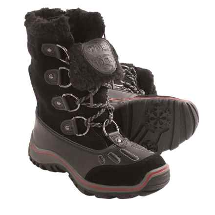 Pajar Alina Snow Boots - Waterproof (For Women) in Black - Closeouts