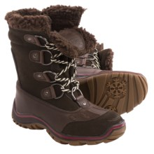 Pajar Alina Snow Boots - Waterproof (For Women) in Coffee - Closeouts