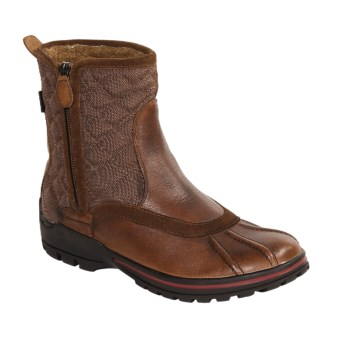 Pajar Alva Boots - Side Zip (For Men) in Tan