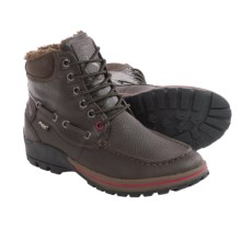 Pajar Bocce Leather Snow Boots - Waterproof, Insulated (For Men) in Brown - Closeouts