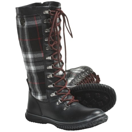Pajar Buzz Boots - Waterproof, Insulated (For Women) in Black/Red