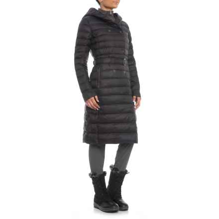 Pajar Canadian Designer Crystal Double-Breasted Down Jacket - Oversized Hood (For Women) in Black - Closeouts