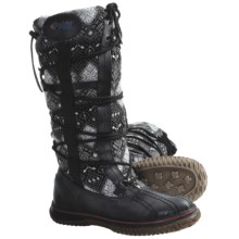 Pajar Crosby 3 Boots - Leather-Wool (For Women) in Black/Charcoal - Closeouts