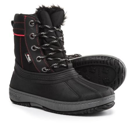 Pajar Elie Snow Boots - Waterproof (For Girls) in Black
