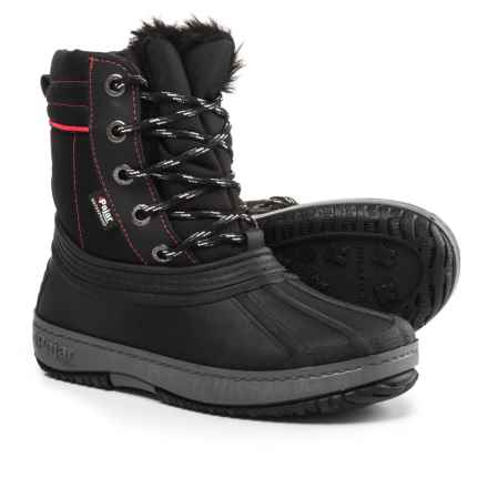 Pajar Elie Snow Boots - Waterproof (For Girls) in Black - Closeouts