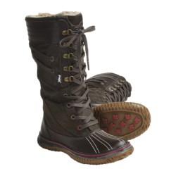 Pajar Galit Boots - Waterproof, Insulated (For Women) in Dark Brown