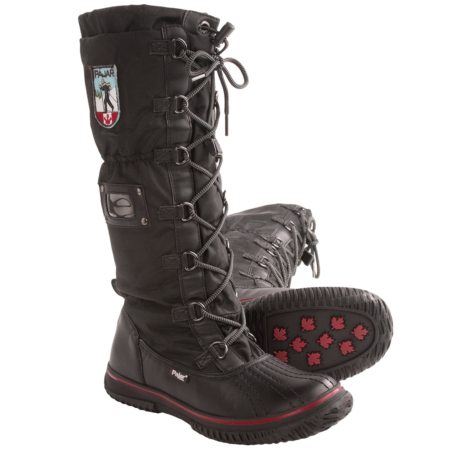 Pajar Women;s Greenland Black Snow Boots | Homewood Mountain Ski ...