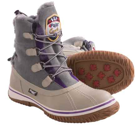 Pajar Iceberg Winter Boots - Waterproof (For Women) in Light Grey/Ice - Closeouts