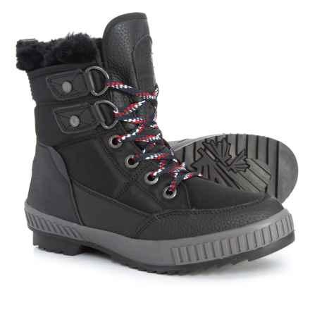 Pajar Kamira Snow Boots - Waterproof (For Women) in Black