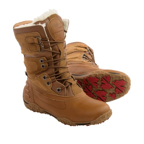 Pajar Pearl Leather Snow Boots Waterproof, Insulated (For Women)