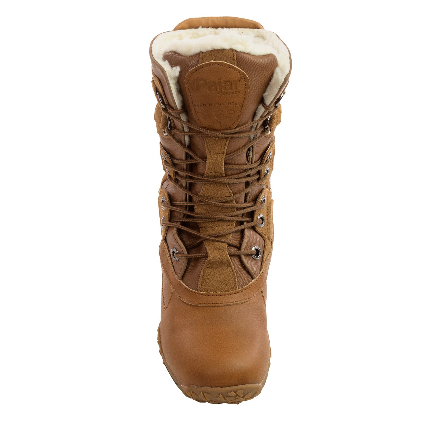pajar pearl leather snow boots for save 77