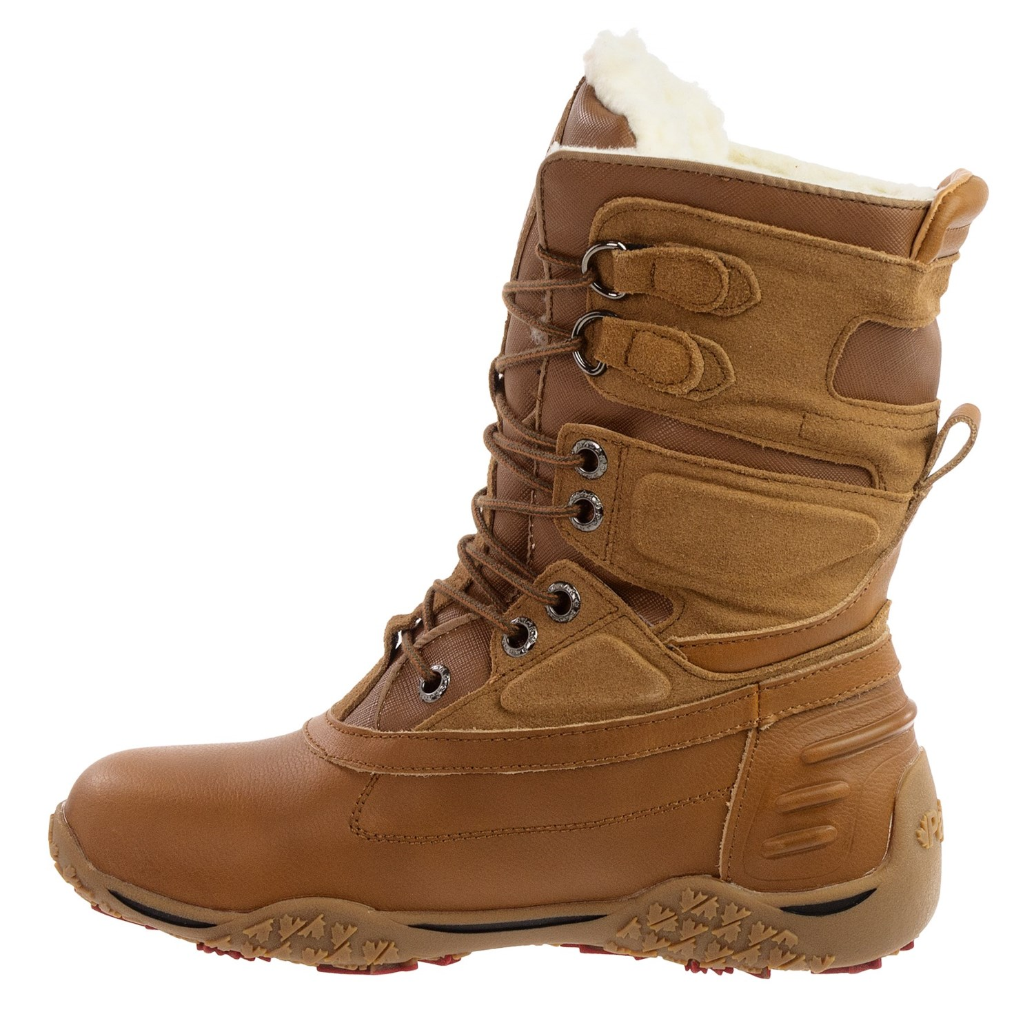 pajar pearl leather snow boots for save 64