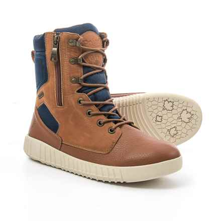 Pajar Pearson Snow Boots - Waterproof, Insulated (For Men) in Cognac - Closeouts
