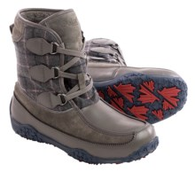 Pajar Piper Snow Boots - Waterproof, Insulated (For Women) in Dark Grey/Grey - Closeouts