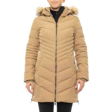 Pajar Queens Down Parka (For Women) in Beige - Closeouts