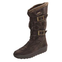 Pajar Sled Boots (For Women) in Brown W/Fleece - Closeouts