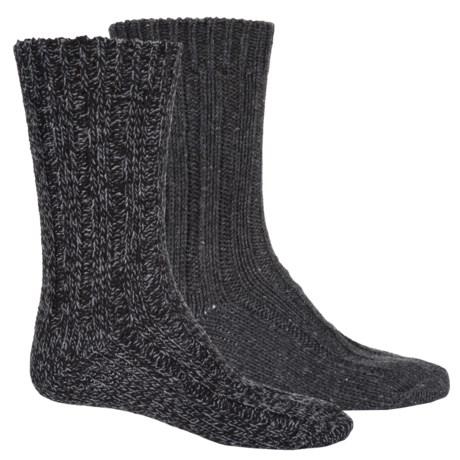 Pajar Thick Wool-Blend Socks - 2-Pack, Crew (For Men)