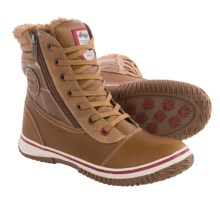 Pajar Tour Leather Snow Boots - Waterproof, Insulated (For Men) in Cognac - Closeouts