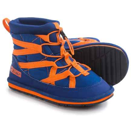 Pakems Extreme Snow Boots - Insulated (For Little and Big Kids) in Blue/Orange - Closeouts