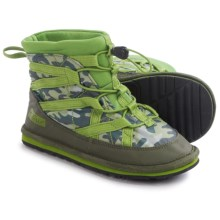 Pakems Extreme Snow Boots - Insulated (For Little and Big Kids) in Green Camo - Closeouts