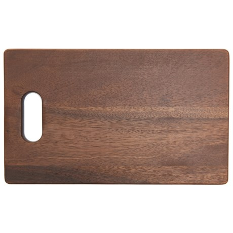 """Palate and Plate Acacia Wood Cutting Board - 14x8.5"""" in See Photo"""