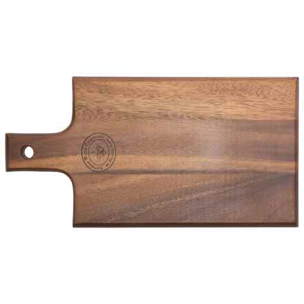 """Palate and Plate Acacia Wood Paddle Cutting Board - 8.25x15.5"""" in See Photo - Closeouts"""