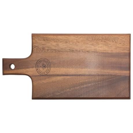 "Palate and Plate Acacia Wood Paddle Cutting Board - 8.25x15.5"""