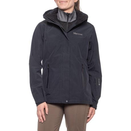 Palisades Gore-Tex(R) Ski Jacket - Waterproof (For Women) - BLACK (L )