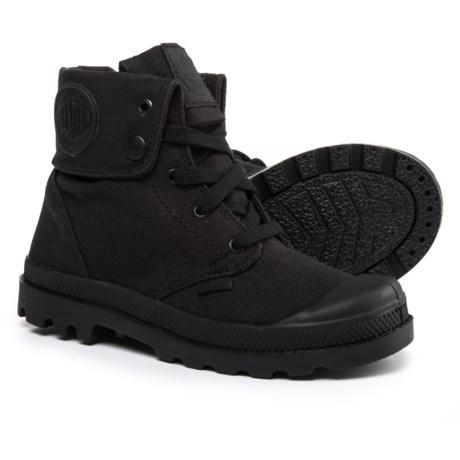 Palladium Baggy Zipper II Sneakers (For Boys) in Black