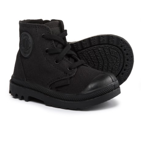 Palladium Pampa High-Top Sneakers (For Infant and Toddler Boys) in Black