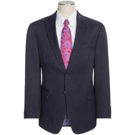 Palm Beach Jim Solid Suit - Stretch Wool Blend (For Men) in Navy - Closeouts