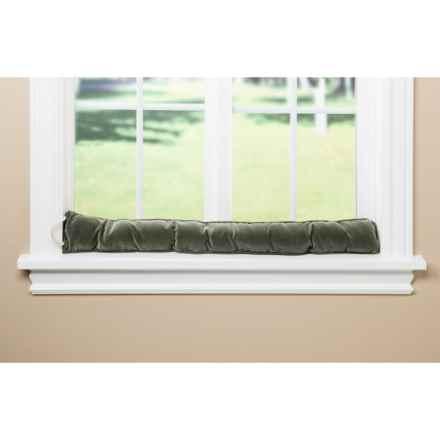 Palmilla Home Furnishings Draft Blocker - Ribbed Corduroy in Sage - Overstock
