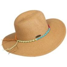 Panama Jack Floppy Brim Sun Hat - UPF 50+ (For Women) in Tea - Closeouts