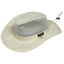 Panama Jack Mesh-Crown Safari Hat (For Women) in Ivory - Closeouts