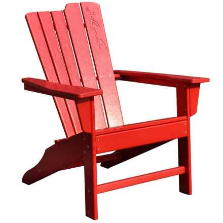 Panama Jack Signature Adirondack Chair in Red - Closeouts