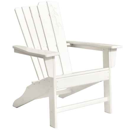 Panama Jack Signature Adirondack Chair in White - Closeouts