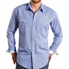 Panhandle Slim Bardino Vintage Shirt - Snap Front, Long Sleeve (For Men) in Blue - Closeouts