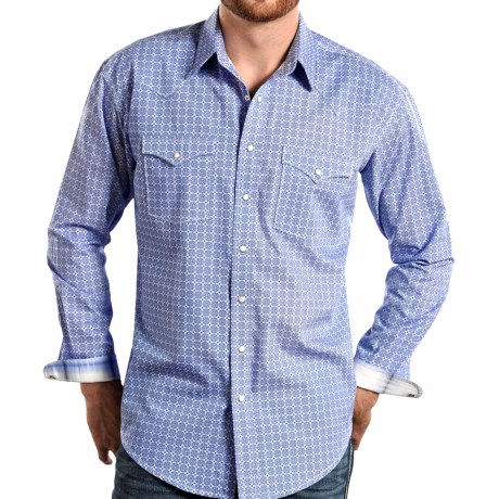 Panhandle Slim Bardino Vintage Shirt Snap Front, Long Sleeve (For Men)