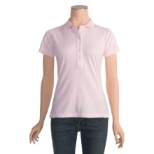 Panhandle Slim Polo Shirt - Cotton, Short Sleeve (For Women) in Pink - Closeouts