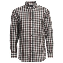 Panhandle Slim Saddlewear Plaid Shirt - Long Sleeve (For Men) in Black - Closeouts