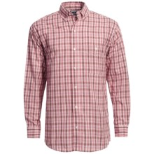 Panhandle Slim Saddlewear Plaid Shirt - Long Sleeve (For Men) in Red - Closeouts