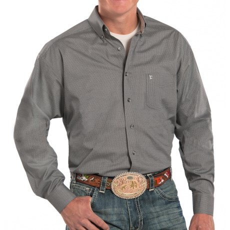 Panhandle Slim Tuf Cooper Competition Fit Poplin Shirt Long Sleeve (For Men)