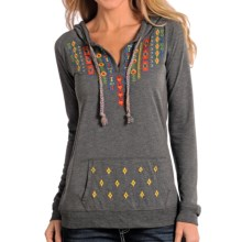 Panhandle Slim White Label Heather Hoodie (For Women) in Charcoal - Overstock