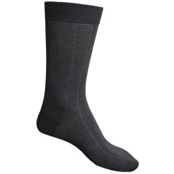Pantherella Dress Socks - Egyptian Cotton (For Men) in Black